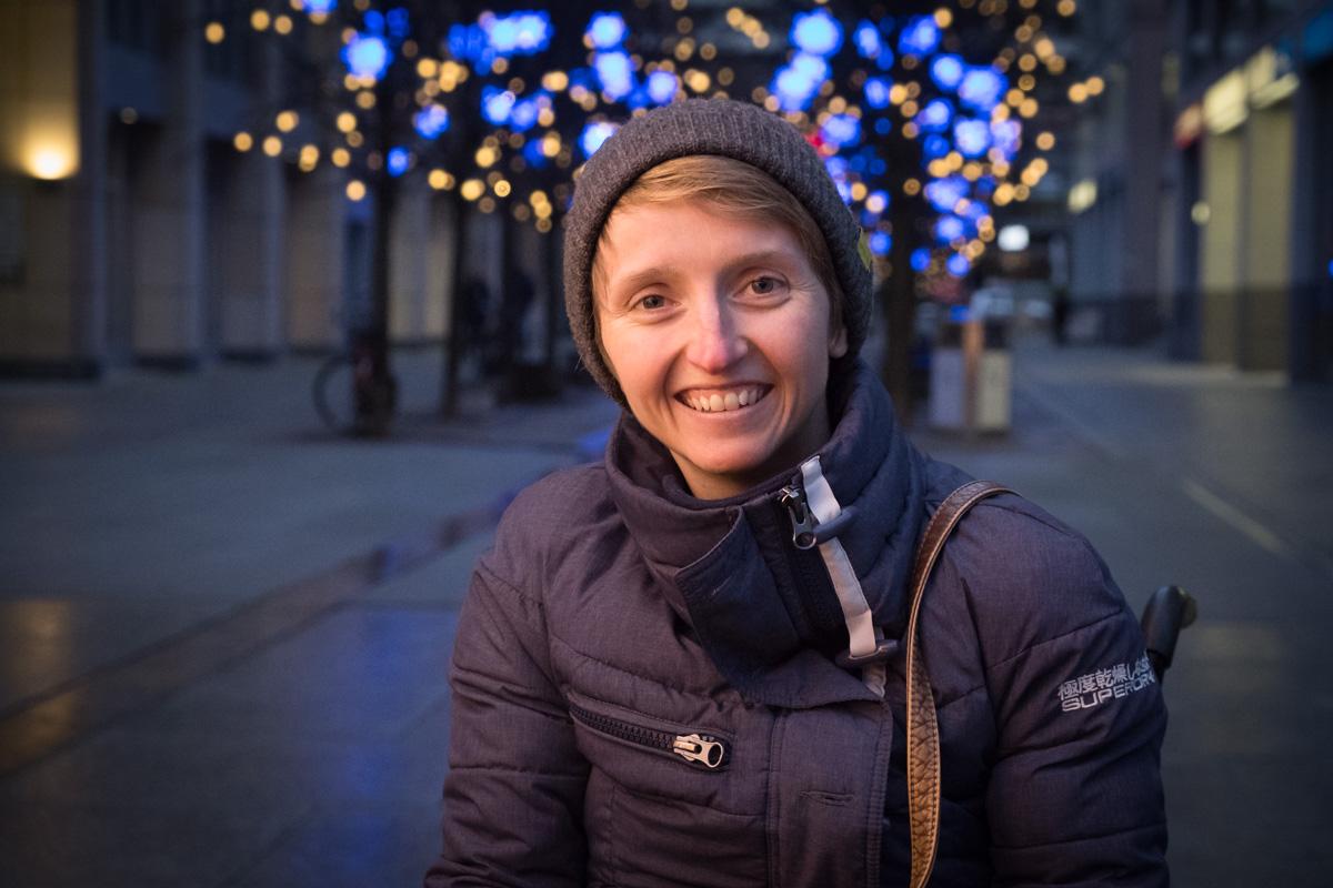 Tina Marie Evans in Berlin